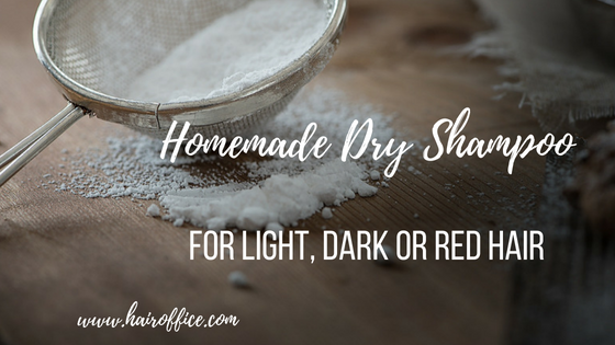 Make Your Own Homemade Dry Shampoo for Light, Dark or Red Locks